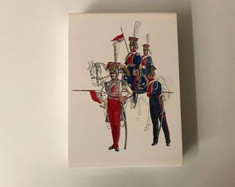 "Book ""Les uniformes des guerre napoleoniennes"" Quatuor"