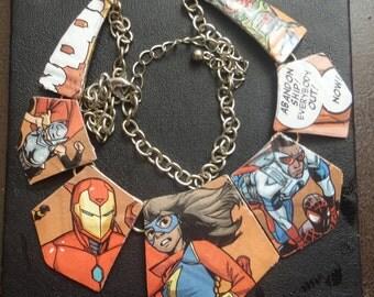 Marvel Comic Necklace