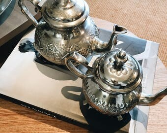 Authentic Moroccan teapots