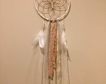 Enchanted Pixie Pink Dreamcatcher