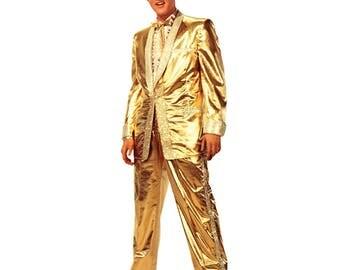 Elvis Presley Gold Suit Life-Size Cardboard Cutout