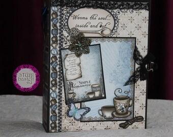 Scrapbook Mini Coffee-talk, photo book, photo album,