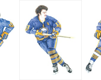 The French Connection Buffalo Sabres - NHL Hockey - Art Print