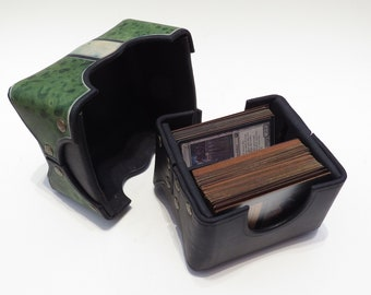 Hard Leather Deckbox - Card Game Supply
