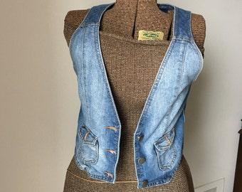 Vintage XXI Jean Vest