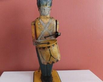 Vintage Wolverine No 27 Drum Major Tin Toy