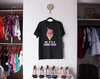 It's A Unicone Unicorn Ice Cream Shirt | Funny Unicorn Shirts