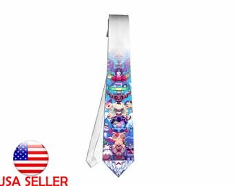 Necktie Neck Tie Pokemon XY Go Charizard Switch Anime Unique Gift Cosplay#3