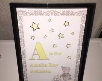 Personalised Photo Frames - A4