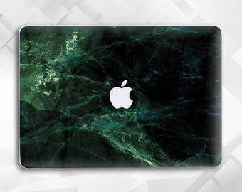 Dark Marble Macbook Air 13 Macbook Pro 13 Case Macbook Air 11 Case Macbook Air Macbook Air Case Marble Macbook Case Green Marble Macbook