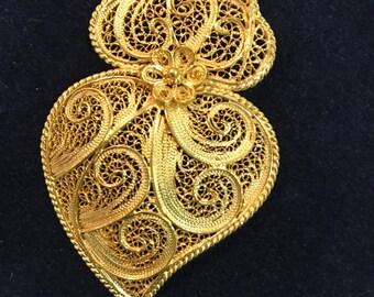 Handmade Filigree Heart
