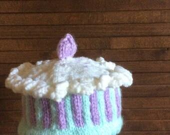 Baby beanie cupcake hat newborn