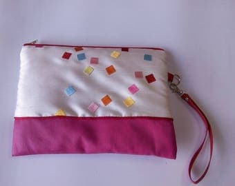 Chic clutch bag with Princess