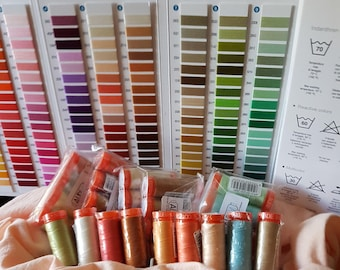 Aurifil Mako 50wt Cotton Threads  200m small spool
