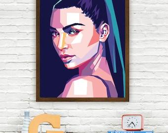 Kim Kardashian Limited Artwork