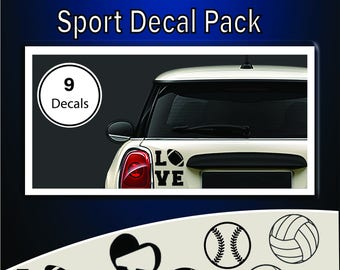 Love Sport Decal Pack