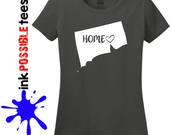 Connecticut Home Shirt Connecticut Gift T-Shirt Roots Native