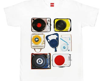 Gramophones 7 tshirt vintage audio hi fi hi end vinyl analogue