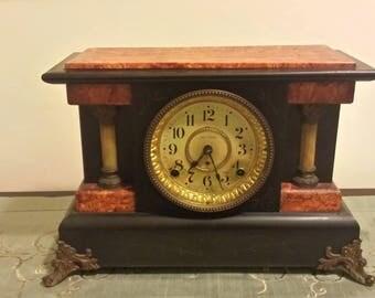 Beautiful ANTIQUE 1880 Seth Thomas Mantle Clock