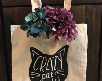 Crazy Cat Lady Tote