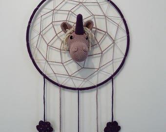 DreamCatcher. Dream catcher Unicorn head