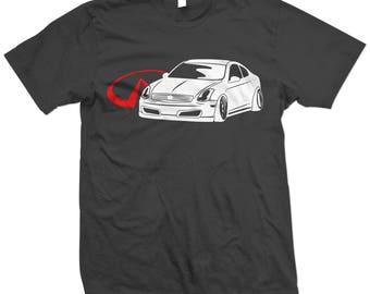 Infiniti G35 Coupe T-shirt/Tshirt JDM Racing