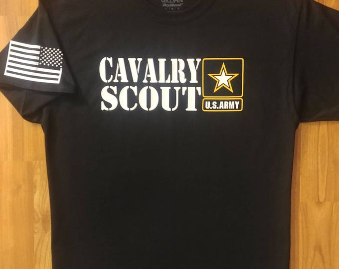 Army - US Army Cavalry Scout - Mens Army Shirt - Womens Army Shirt - Army National Guard - Army Veteran - Unisex Shirt - Army Wife - US Army