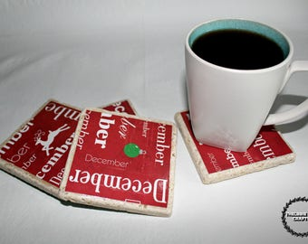 December/ Christmas Themed Coasters