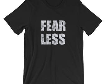 Fear Less Spartees Short-Sleeve Unisex T-Shirt
