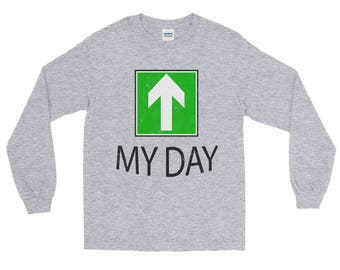 My Day Upper Spartees Distressed Unisex Long Sleeve T-Shirt