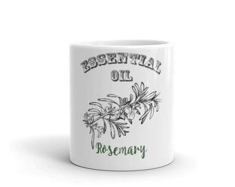 Essential Oil Rosemary Mug