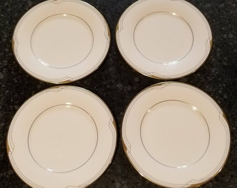 Golden Cove by Noritake Fine China - Bread and Butter Plates - Set of (4)