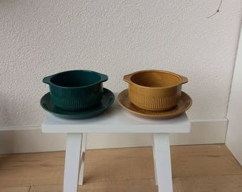 Soup bowls with Saucer