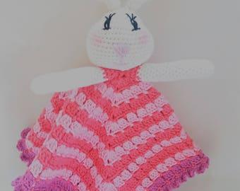 Doudou snowman amigurumi Bunny, cover sweet dreams