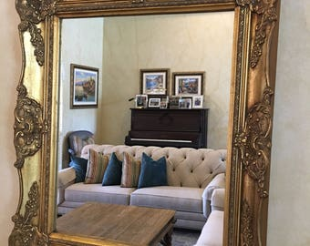 Antique Frame with Mirror