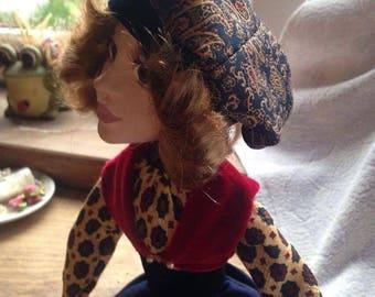 Cristine handmade art doll Laisves dolls