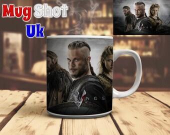 Vikings Style Coffee Mug Ragnar Lothbrok