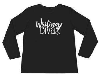 Writing Diva Women's Journalism Long Sleeve T-Shirt