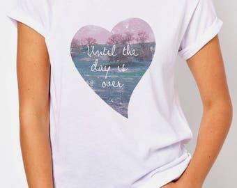 T-SHIRT HEART / tshirt fashion / tee trendy / tshirts love / tees lovers / tshirt gift / valentin's day / love phrases