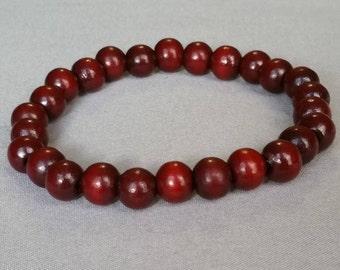 10 MM Red Sandalwood Bracelet