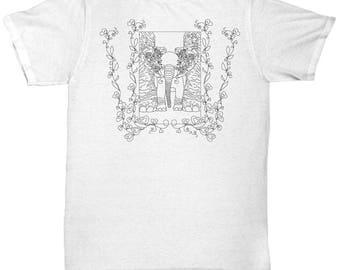 Baby Elephant Tee, Elephant Tshirt, Unisex T-Shirt,  Animal Tee, Animal Shirt, Animal Art, Cute Elephant, Womens Tees, Gift Idea, Shirts