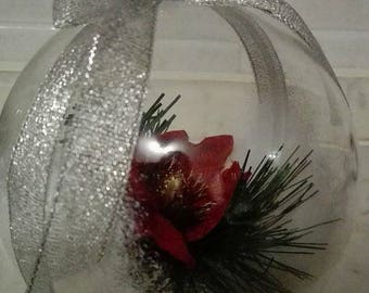 Christmas Floral Composition Ball