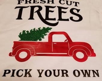 Fresh Cut Trees Christmas Shirt