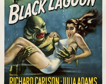 "Creature from the Black Lagoon 36""x24"""