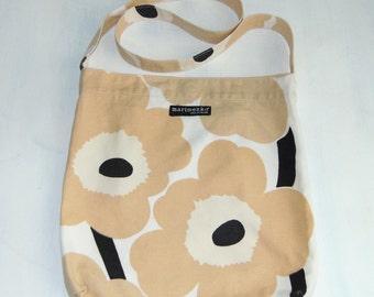 Vintage 90s Marimekko Cotton bag UNIKKO  Marimekko vintage Suomi Finland Marimekko design Scandinavian design Marimekko bag Shoulder bag