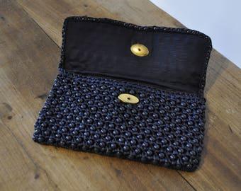 Dark blue pouch