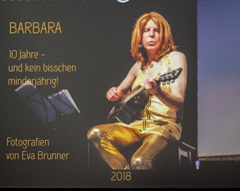 Barbara-The calendar 2018-photographs Eva Brunner