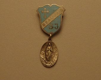 religious medal.