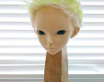 """Goat wig, Wig Minifee, bjd ,MSD ,MNF, 7-8"""" wig,Size 7-8"""",goat wig,natural goat,minifee , for sale"""