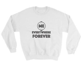 Yoga Sweatshirt, Faith Sweatshirt, Sweatshirt gift for her, Sweatshirt Gift for him, God Sweatshirt, Spiritual Gift Sweatshirt